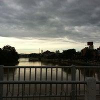 Photo taken at Nakhonping Bridge by May T. on 8/26/2011