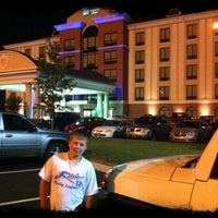 Photo taken at Holiday Inn Express & Suites Lebanon by Mike B. on 7/1/2011