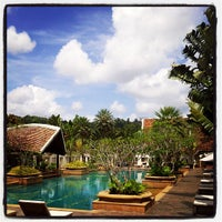 Photo taken at Mission Hills Phuket Golf Resort And Spa by Nisakorn S. on 8/9/2012