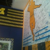 Photo taken at Maize N Blue Deli by Zach G. on 4/7/2012