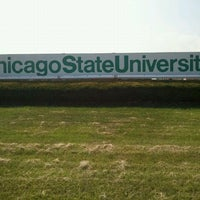 Photo taken at Chicago State University by Terrion-Oso E. on 8/22/2011