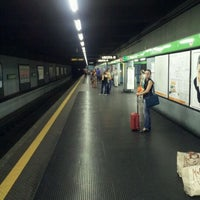 Photo taken at Metro Sant'Agostino (M2) by Paolo V. on 8/26/2011