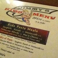 Photo taken at Jimmy's Pizza & Pasta by Ashley A. on 10/24/2011