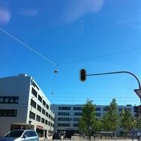 Photo taken at Giesinger Bahnhofsplatz by Chris S. on 9/10/2011