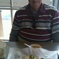 Photo taken at Bruegger's Bagels by Bridget W. on 1/27/2012