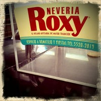 Foto tomada en Nevería Roxy por Miko R. el 4/26/2012