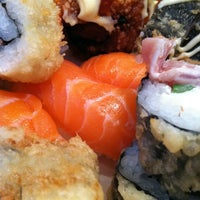 Photo taken at Ru San's Japanese Sushi & Cuisine by Sarah D. on 3/30/2012
