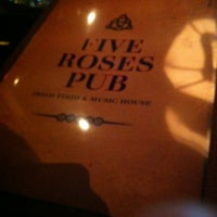 Photo taken at Five Roses Pub by Jeff B. on 4/13/2012
