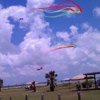 Photo taken at Rockport Beach Park by Rosie C. on 5/28/2012