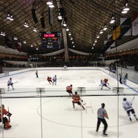 Photo taken at David S. Ingalls Rink by Marysunny on 3/3/2012