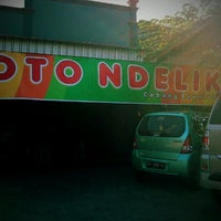 Photo taken at Soto Ndelik by Thya A. on 8/24/2012