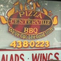 Photo taken at Centerville Pizza And BBQ by Angela on 8/3/2012