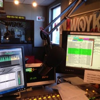 Photo taken at 99.5 WQYK by Barbara Ann K. on 1/15/2012