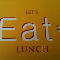 Photo taken at EAT = Authentic Thai Kitchen by CAESAR D. on 5/7/2012