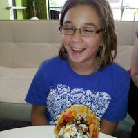 Photo taken at Orange Leaf by Chad P. on 4/12/2012