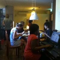 Photo taken at River City Inn Hostel by Basil C. on 2/6/2011