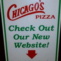 Photo taken at Chicago's Pizza by Tim L. on 10/22/2011
