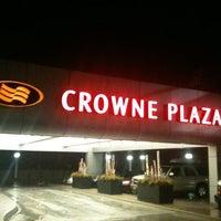 Photo taken at Crowne Plaza Boston - Newton by Eric A. on 2/24/2012
