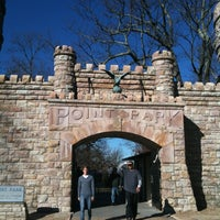 Photo taken at Point Park by Barry M. on 11/25/2011