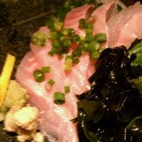 Photo taken at 魚もつ鍋 魚呑 うおどん 高円寺店 by daisuke n. on 8/30/2011