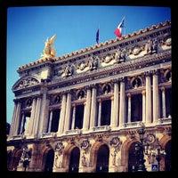Photo taken at Garnier Opera by Irina I. on 7/24/2012