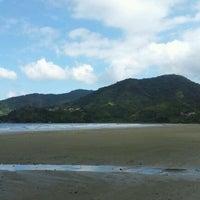 Photo taken at Praia Dura by Silvio S. on 4/18/2012