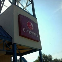 Photo taken at First Merit / Citizens Bank by Alan T. on 9/2/2011