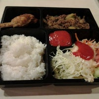 Photo taken at Hoka Hoka Bento by Yunita L. on 2/18/2012