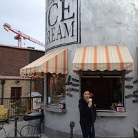 Photo taken at Little Man Ice Cream by Connor G. on 4/16/2012