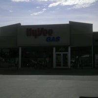 Photo taken at Hy-Vee Gas by Andrew G. on 10/22/2011