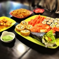 Photo taken at Wasabi I Sushi by Diogo P. on 3/25/2012