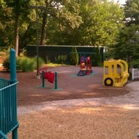 Photo taken at Hassenfeld Playground by Justyna S. on 7/19/2011