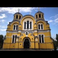 Photo taken at St Volodymyr's Cathedral by Снежана С. on 8/20/2012