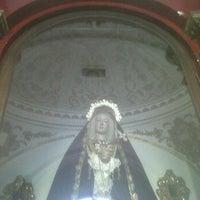 Photo taken at Capilla de los Dolores del Puente by Carlos Ismael S. on 2/9/2012