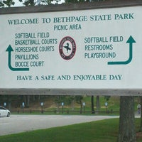 Photo taken at Bethpage State Park by Nicole M. on 8/2/2012