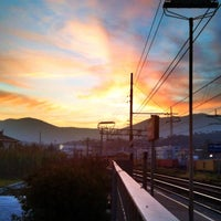Photo taken at Stazione La Spezia Migliarina by Danilo R. on 11/28/2011