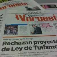 Photo taken at Periodico Noroeste by SUsy S. on 1/13/2012