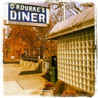 Photo taken at O'Rourke's Diner by Jim P. on 11/13/2011