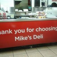 Photo taken at Mike's Deli by Amber'Helena J. on 10/2/2011
