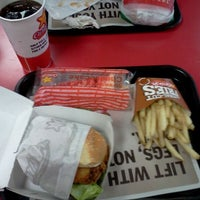 Photo taken at Carl's Jr. by Amanda H. on 10/30/2011