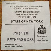 ... Photo taken at New York State DMV by Silent D on 1/17/2012