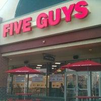 Photo taken at Five Guys by Blah B. on 9/13/2011