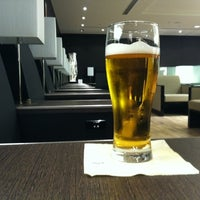 Photo taken at ANA Lounge - Main Bldg. North by Hiro A H. on 1/5/2012