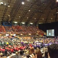 Photo taken at Freeman Coliseum by Nicole on 8/21/2012