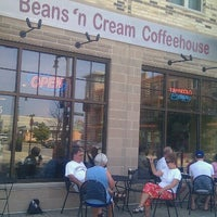 Photo taken at Beans 'N Cream Coffeehouse by Terrence on 7/4/2012
