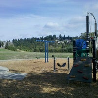 Photo taken at Skyview City Park by Thomas P. on 10/1/2011