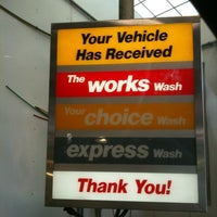 Photo taken at Mike's Express Car Wash by Allan T. on 2/20/2011