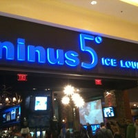 Photo taken at Minus5° Ice Lounge by Jonathan H. on 2/20/2011