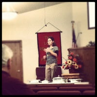 Photo taken at Meadow View Church by JW A. on 11/14/2011