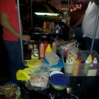 Photo taken at hot dog colombiano by Daniel D. on 1/17/2012